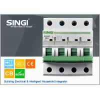 230V single phase 4P Miniature Circuit Breakers for protection overload and short circuit Manufactures