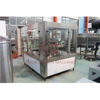 China Small Scale Hot Juice Filling Machine Glass Bottle Water Capping Line on sale
