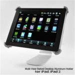 Multi-View Swivel Desktop Aluminum Holder for iPad Manufactures