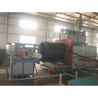 Automatic Pipe Production Line HDPE Large Dimeter with touch screen Manufactures