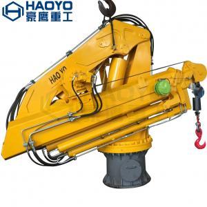Hydraulic Telescopic Offshore Jib Cranes for Sale Marine Ship Crane Manufactures