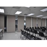 Conference Room Sliding Folding Partitions Movable Walls For Art Gallery Manufactures