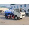 Buy cheap HOWO Septic Vacuum Trucks , High Efficiency Septic Tank Pump Truck 1880 Cabin from wholesalers