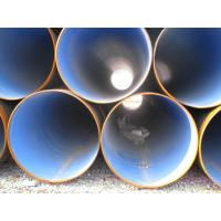 EN 10217 Galvanized Anti Corrosion Pipe Submerged Arc Welded Spiral Steel Pipe , Thickness 4mm - 30mm Manufactures