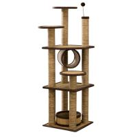 Indoor Comfy Cat Climbing Frame Exquisite Appearance OEM / ODM Available Manufactures