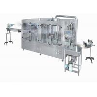 China CIP Cleaning 24 Heads Hot Filling Juice Bottling Machine on sale