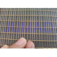 Customized Size Laminated Screen Mesh Decorative Glass Metal Mesh Fabric Manufactures