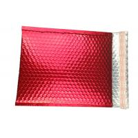 Moisture Proof Colorful Metallic Glamour Bubble Mailers Shipping  Mailing Bags for sale