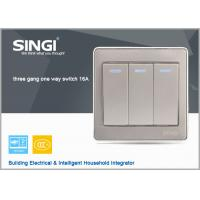 Buy cheap GNW56BK Hot China  British Style Wall Switch ,tactile switch led illuminated from wholesalers