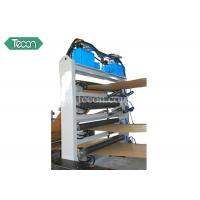 Full Automatic Paper Sack Machine High Speed With PLC Control Panel Manufactures
