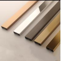 Stainless Steel Gold Tile Trim 201 304 316 Manufactures