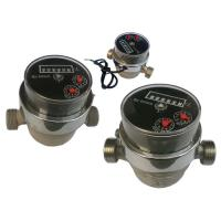 Plastic Residential Mechanical Water Meter For Drinking Water Measuring Manufactures