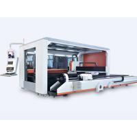 Hot Sale Full Closed Exchange Table Fiber Laser Sheet&Tube Cutting Machine Price Manufactures