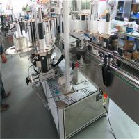 Plastic Buket Single High Speed Labeling Machine , Two Side Labeling Machine Manufactures