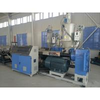 20 - 160MM PE PPR Plastic Pipe Production Line / PE Cool and Hot Water Pipe Extrusion Machine Manufactures