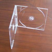 CD Jewel Case with Thickness of 5.2mm, for Single or Double CDs, Available in Various Colors Manufactures