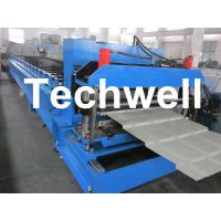 Minimalist Metal Roof Tile Roll Forming Machine With 18 Forming Stations Manufactures