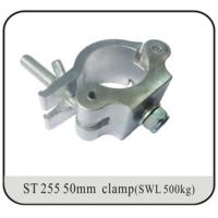 China Light Trussing Heavy Duty O Swivel Clamp With Half Coupler 10mm - 20mm Thickness on sale