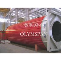 Horizontal Heating Thermal Oil Boiler Electric For Wood , Safe Monitor Device Manufactures