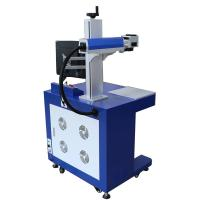 China Small Fiber Laser Marking Machine / Watches Camera Buckles Laser Marking Device on sale
