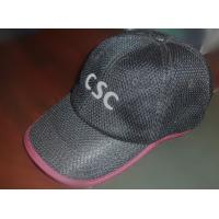 China Custom hat embroidery / fashion cap, cotton material and fashion round crown, Flat embroidery logo on sale