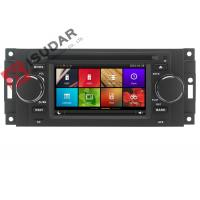 Capacitive Touch Screen Chrysler 300c Dvd Player , Multimedia Car Entertainment System Manufactures