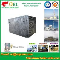 80 Ton Gas Boiler Air Preheater In Thermal Power Plant , AirPre Heater Manufactures