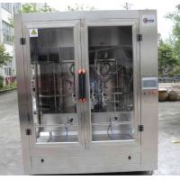 China Full Automatic Cooking Oil Filling Machine , Edible Oil Packaging Plant For Pet Bottle on sale