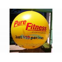 Weather Resistant Printed Helium Balloons Sphere / Printed Cloud Buster Manufactures