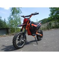 500w Electric Dirt Bike For Kids With Offroad Tire And 70kg Playload Manufactures