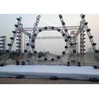 China Easy Instal / Demount Aluminum Stage Truss Customized 12m Span Stage Background on sale