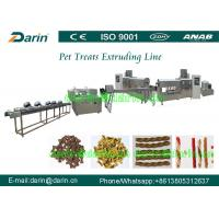 High Efficiency Dog Food Extruder Equipments for nutrition and chewing hobby Manufactures