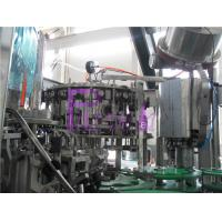 2000BPH Full Auto Beer Filling Machine Beverage Bottle Washing Filling Capping Equipment Manufactures