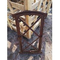 Antique Reclaimed Metal Window Frames With Window Panel To Open H74.5xW43CM Manufactures