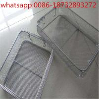 disinfect basket/metal basket/stainless steel wire basket/wire mesh baskets from factory price Manufactures