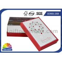 China OEM Rigid Paper Gift Box with Diamond Decorated / Cardboard Gift Box with Lid on sale