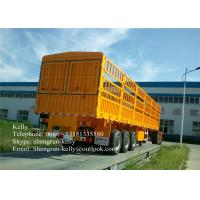 Shengrun 3 axle 50 tons side wall semi truck cargo trailer for sale Manufactures