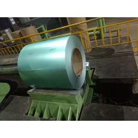 China Green Galvalume / Galvanized Steel Coil For Stone Coat Metal Roofing Tile on sale