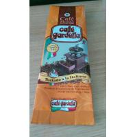 Custom Printed Plastic Pouches Packaging , Zipper Coffee Bean Packaging Manufactures