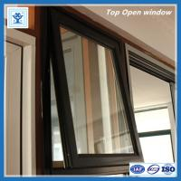 China Quality single glazed aluminium top hung window with economic price on sale