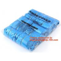 Disposable CPE Shoe Covers,blue pe disposable shoe covers plastic covers,Safety Products Equipment Indoor Disposable med Manufactures