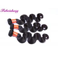 Buy cheap 9A Grade Virgin Indian Hair / Body Wave Weave Hair Soft And Smooth from wholesalers