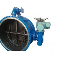 Electric / Manual Drived Flanged Butterfly Valve with Pressure 0.25Mpa - 2.5 Mpa for hydropower Manufactures