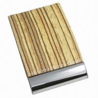 Vertical Cortex Business Card Cases, Made of Stainless Steel Manufactures