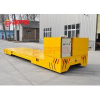 1-500T Load Capacity Trackless Transfer Cart For Plant 12 Months Warranty Manufactures