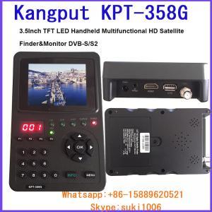 Kangput 358G 3.5 Handheld TFT LCD Multi-Function(DVB-S/S2) Digital Satellite Finder/Monitor Manufactures
