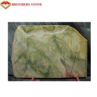 Green Onyx Marble Stone Slab 15-18mm Thickness For Home Decoration Manufactures