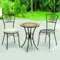 3pcs Bistro Set, Chair with Cushion Manufactures
