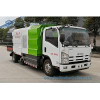 China JAPAN ISUZU Vacuum Suction Dust Truck 700P 190hp Road Cleaning Vehicle 7000L Dry And Wet Street Sweeper Truck on sale
