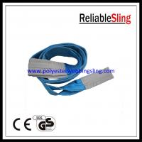 SF 7 8T Blue color polyester duplex webbing sling 1-100 meters length Manufactures